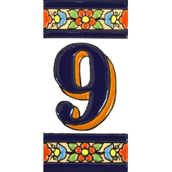 TILE LETTERS AND NUMBERS  A01456.9