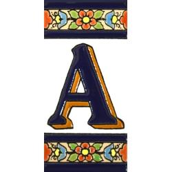 AZULEJO NUMERI E LETTERE  A01456.A