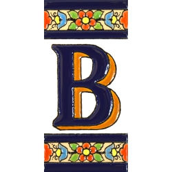TILE LETTERS AND NUMBERS  A01456.B