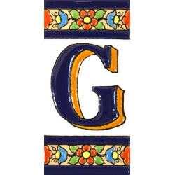 TILE LETTERS AND NUMBERS  A01456.G
