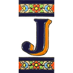 TILE LETTERS AND NUMBERS  A01456.J