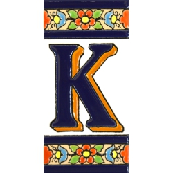 TILE LETTERS AND NUMBERS  A01456.K