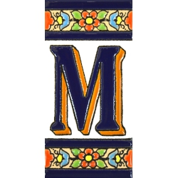 TILE LETTERS AND NUMBERS  A01456.M