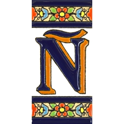 TILE LETTERS AND NUMBERS  A01456.Ñ