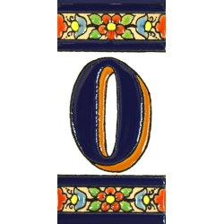 TILE LETTERS AND NUMBERS  A01456.O