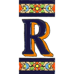 TILE LETTERS AND NUMBERS  A01456.R
