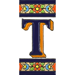 TILE LETTERS AND NUMBERS  A01456.T