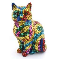 CAT SCULPTUR  43327