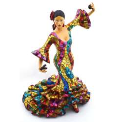 FLAMENCO DANCER SCULPTUR  43316