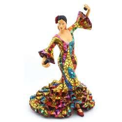 FLAMENCO DANCER SCULPTUR  43317