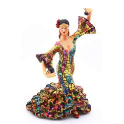 FLAMENCO DANCER SCULPTUR  43319