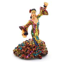 FLAMENCO DANCER SCULPTUR  43320