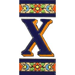 AZULEJO NUMEROS Y LETRAS  A01456.X