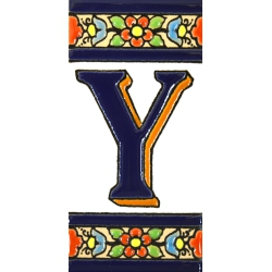 TILE LETTERS AND NUMBERS  A01456.Y