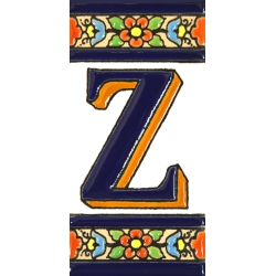 TILE LETTERS AND NUMBERS  A01456.Z