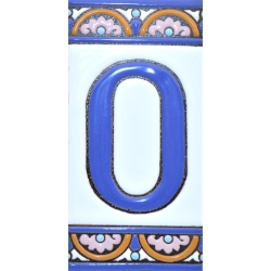 TILE LETTERS AND NUMBERS  A10168.0