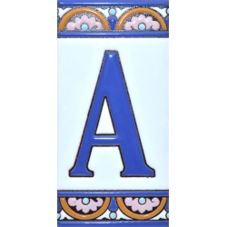 TILE LETTERS AND NUMBERS  A10168.A