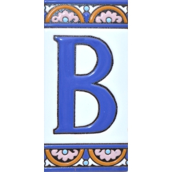 TILE LETTERS AND NUMBERS  A10168.B