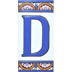 TILE LETTERS AND NUMBERS  A10168.D