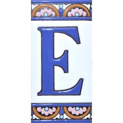 AZULEJO NUMEROS Y LETRAS  A10168.E