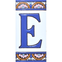 TILE LETTERS AND NUMBERS  A10168.E