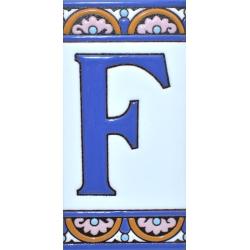 AZULEJO NUMEROS Y LETRAS  A10168.F