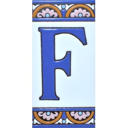 TILE LETTERS AND NUMBERS  A10168.F