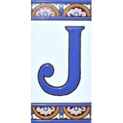 CARREAU NUMÉROS ET LETTRES  A10168.J