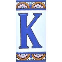 TILE LETTERS AND NUMBERS  A10168.K