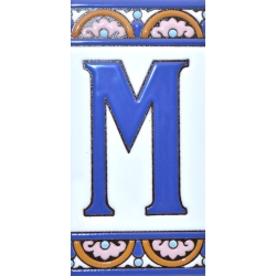TILE LETTERS AND NUMBERS  A10168.M