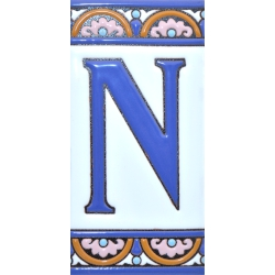 TILE LETTERS AND NUMBERS  A10168.N