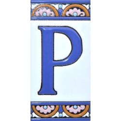 TILE LETTERS AND NUMBERS  A10168.P