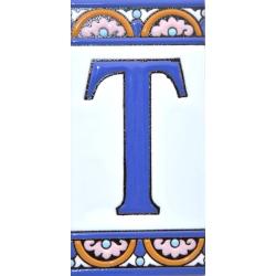 AZULEJO NUMEROS Y LETRAS  A10168.T