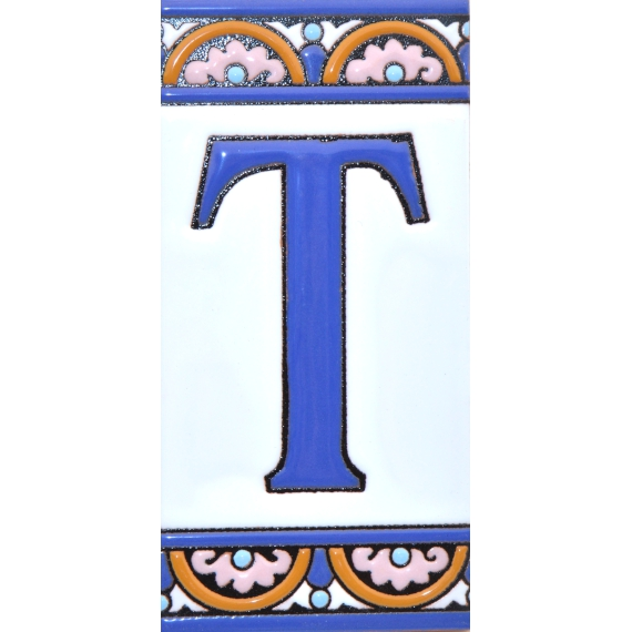 TILE LETTERS AND NUMBERS  10168