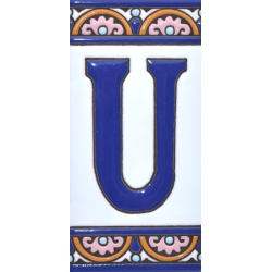 TILE LETTERS AND NUMBERS  A10168.U
