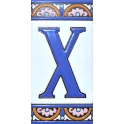 CARREAU NUMÉROS ET LETTRES  A10168.X