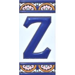 AZULEJO NUMEROS Y LETRAS  A10168.Z