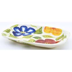 ROUND DISH SNACK TRAY BOWL 40197