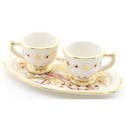 SET DE TASSES SET DE TE  38574.B