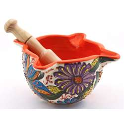 MORTAR AND PESTLE   25049.N