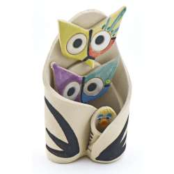 OWL FIGURES STATUES 13342