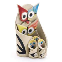 OWL FIGURES STATUES 09246