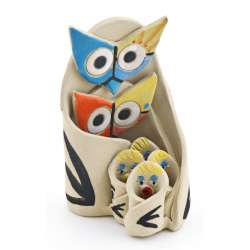 OWL FIGURES STATUES 13343