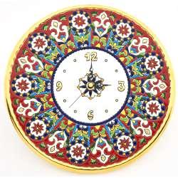 CLOCK DECORATIVE PLATE WALL  38743