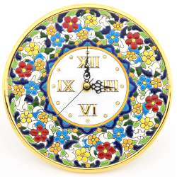 CLOCK DECORATIVE PLATE WALL  38738