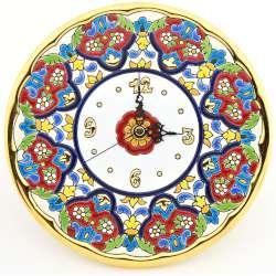 CLOCK DECORATIVE PLATE WALL  38739