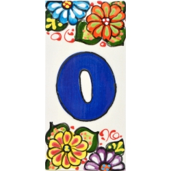 LETTERS AND NUMBERS TILE  A41302.0
