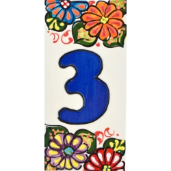 LETTERS AND NUMBERS TILE  41302.3