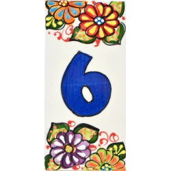 LETTERS AND NUMBERS TILE  41302.6
