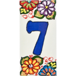 LETTERS AND NUMBERS TILE  A41302.7